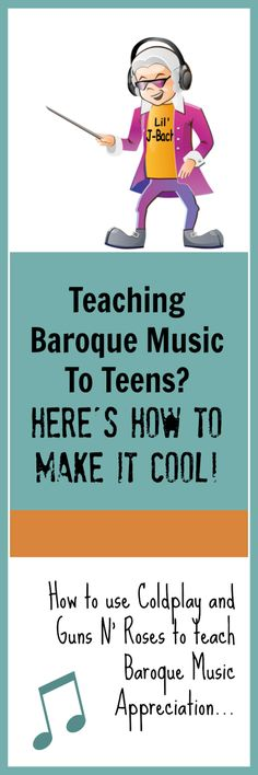 Help your teens to connect with their Baroque Repertoire with this unique approach #YesWeSaidColdplay #NoMoreBrokenBaroque #TeenPianoHacks