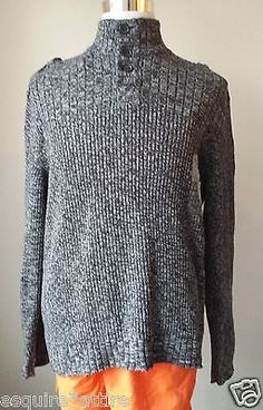 #men sweater for sale Calvin Klein men size XXL cotton three button style sweater with epaulets CalvinKlein withing our EBAY store at  http://stores.ebay.com/esquirestore