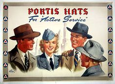Rare Poster from 1941-1945.