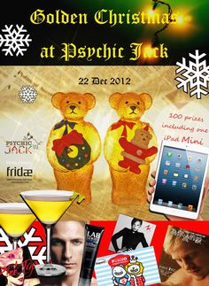Golden Christmas @ Psychic Jack Lounge Hong Kong | Gay Asia Traveler
