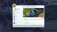 Lana CC Finds - Xtreme Career (TS1 to TS4) by GoBananas (Sims 4)...