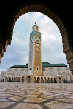 Hassan II Mosque. Will be there in two weeks time...  #morocco #travel #adventure #takinguthere