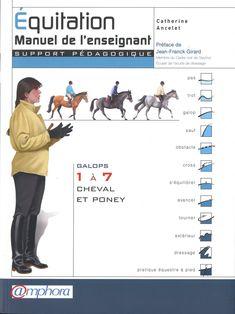 Amazon.fr - Équitation - Manuel de l'enseignant -Galops 1 à 7, cheval et poney - Catherine ANCELET - Livres