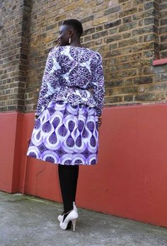 Purple reign- My African closet