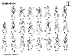 Dan-Gun - Yellow Belt Pattern I will be performing at the tournament.