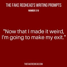 Writing Prompts No. Book Prompts, Dialogue Prompts, Creative Writing Prompts, Book Writing Tips, Story Prompts, Writing Help, Writing Ideas, Writing Prompts Funny, Story Starter