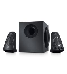 This THX-Certified 2.1 PC speaker system delivers powerful sound with 200 watts (RMS) of power—for big, bold audio.