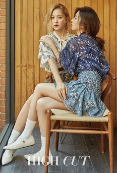 Yeri & Seulgi (Red Velvet) - High Cut Magazine vol. Kpop Girl Groups, Korean Girl Groups, Kpop Girls, Red Velvet Photoshoot, Red Velvet Seulgi, Style Outfits, Kim Yerim, Sensual, Girl Crushes