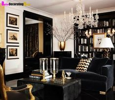 Nice 47 Stylish Gold Living Room Design Ideas You Will Love. More at https://trendhomy.com/2018/04/15/47-stylish-gold-living-room-design-ideas-you-will-love/