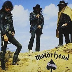 Ace of Spades is the fourth studio album by the band Motörhead, released 8 November on Bronze Records. Music Album Covers, Music Albums, Motorhead Ace Of Spades, Classic Rock Artists, New Vinyl Records, Peter Gabriel, Metal Albums, Great Albums, Judas Priest