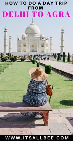 Delhi India Travels to Agra India - Tips on how to travel from Delhi to Agra in India. Whether you want to do a day trip from Delhi to Agra India Travel Guide, Asia Travel, Asian Photography, Travel Photography, Tahiti, Travel Inspiration, Travel Ideas, Travel Tips, Fun Travel