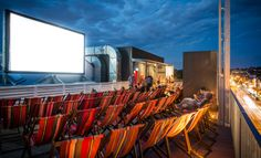 Roof Top Cinema in the heart of the City Read Concrete Playground's take on Lido on the Roof. Concrete Playground; the best guide to bars, restaurants and cafes in Melbourne.