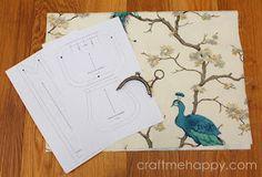 Craft me Happy!: Frame Purse Tutorial
