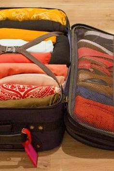 Use suitcases for out-of-season clothing (or any kind of storage, really).