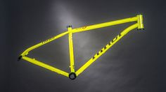 Niner S.I.R. 9 frame — Reynolds steel, SS compatible with eccentric BB. Modern steel singlespeed rig!