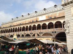 Padova, Piazza Erbe, Palazzo della Ragione