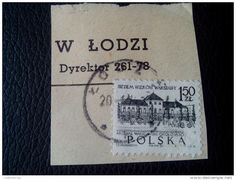 RARE 1966 1.50 ZL POLSKA POLAND POLISH ARSENAL WARSZAWSKI 1830 RECOMMENDET LETTRE ON PAPER COVER USED SEAL - 1944-.... Republic