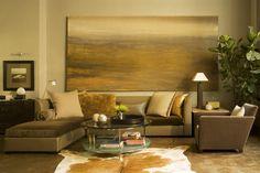 A kép lágy stílusát és színeit remekül adja vissza a szoba többi eleme  is