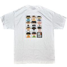 Girl Skateboard Company Men's White T-Shirt