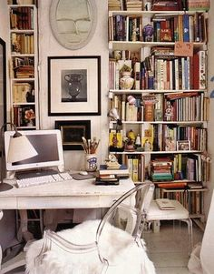 #library #office #workspace