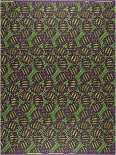 OVAL FORMS | Oval forms are nestled right across this mesmerising fabric, with…
