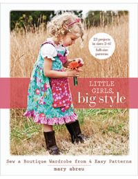 book - Little Girls, Big Style by Mary Abreu