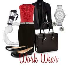 Work Wear....now I just need a job, oh, and those shoes aren't really my style.