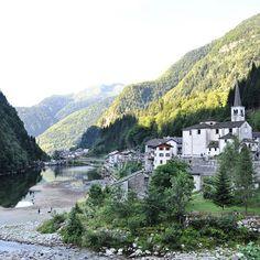 Cartolina da #Rimasco siamo in Val Sermenza per provare il #funbobrimasco tra poco si sale verso le piste! #Piemonte #Vercelli