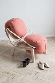 Dango: A Flexible Armchair by Agnieszka Kowal