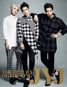 JYJ  on the cover of  Marie Claire Special Edition