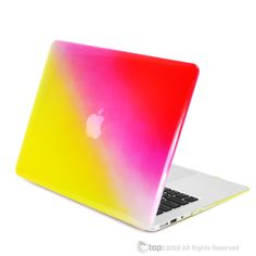 "- Faded Ombre UV High Glossy Macbook Case Cover Perfect fit for Macbook Air 13"" A1369 & A1466 - Ultraviolet Coating provides a very shine and glossy finish, scratch-resistant material have a much harder surface that is more resistant to scratching, whether from dropping your laptop on the floor or occasionally cleaning. - Ultra slim design that is light in weight, durable and has long lasting protection for your laptop - Faded ombre combines two flattering colors to be mixed to one…"