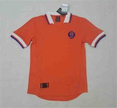 Netherlands National Team 1998 FIFA World Cup Jersey  J961  Football Tops 4219ec712