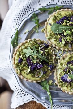 Blend finely chopped broccoli and cauliflower into a quiche with a gluten-free crust.