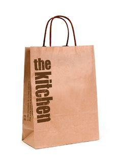 Shopping Bag Design Product : The Kitchen Location : Kuwait Shopping Bag Design, Paper Shopping Bag, Paper Bag Design, Retail Bags, Paper Bags, Design Crafts, Packaging Design, Branding, Bottle