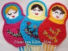 Tutoriel crochet, faire de jolies dames au crochet, voir les tutoriels création.