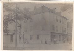 700 Block of Bay Street, Downtown, late 1800s