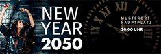 Profitieren Sie von unserer großen Vielfalt an Vorlagen. #onlineprintXXL #newyear #happynewyear #silvester #mitternacht #werbebanner #werbeplane Silvester Party, New Years Eve, Broadway Shows, Advertising, Calm, Promotional Banners, Templates