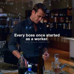 Suits is over, But these 56 Harvey Specter quotes will forever motivate you Harvey Spectre Zitate, Harvey Specter Quotes, Suits Quotes Harvey, Wisdom Quotes, Life Quotes, Motivational Quotes, Inspirational Quotes, Gentleman Quotes, Millionaire Quotes