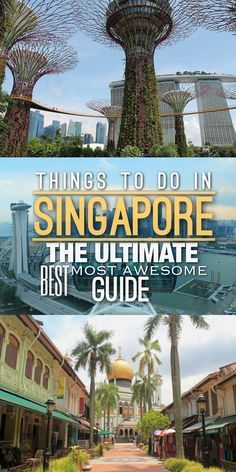 Possibly the ultimate best most amazing list of things to do in Singapore including zoos historic suburbs parks gardens and great places to eat. Singapore Things To Do, Singapore Travel Tips, Singapore Guide, Holiday In Singapore, Singapore Itinerary, Visit Singapore, Singapore Malaysia, Singapore Trip, Best Places In Singapore