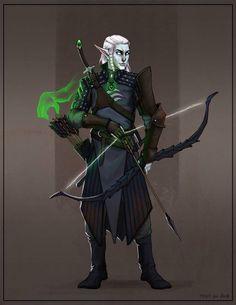 VezrynNailowyn - High Elf Gloom Stalker