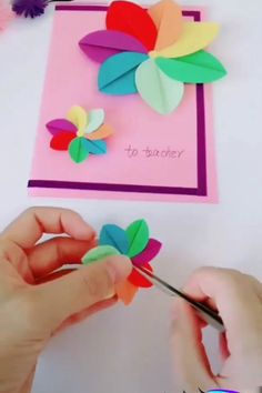 Amazing Paper Crafts Creative ideas and the best. Amazing Paper Crafts Creative ideas and the best ways of making paper crafts. The post Amazing Paper Crafts appeared first on Paper Diy. Paper Folding Crafts, Paper Flowers Craft, Easy Paper Crafts, Diy Arts And Crafts, Flower Crafts, Creative Crafts, Diy Paper, Diy Crafts, Paper Crafting