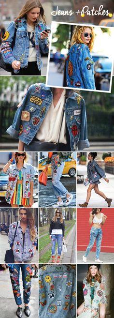 DESEJO :: JEANS PATCHES!#jeans  Einfach zum selber machen