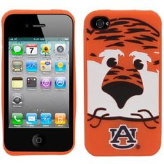 Love this!  Auburn's Aubie for your iPhone 4. I want this...and wouldnt you know it, its out of stock. Go figures. lol