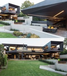 Homedesigning: U201c A South African Home That Maximizes Nature Reserve Views U201d