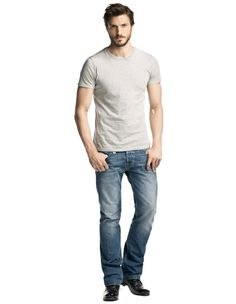 #Dandy is the fit for the everyday man. Straight leg, comfortable waist. #Salsa