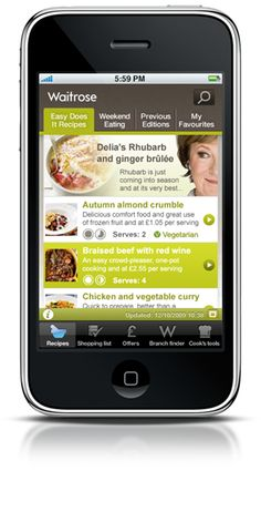 iphone app Braised Beef, Frozen Fruit, Iphone App, Photo Library, Digital Marketing, Channel, Vegetarian, Yummy Food, Eat