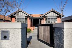 This heritage listed Malvern home includes an overall renewal, both inside and out, and a double story extension. Front Gardens, Extensions, Garage Doors, Exterior, Mansions, Architecture, House Styles, Outdoor Decor, Home Decor