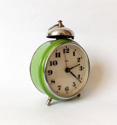 RARE  Vintage 1960s Single Bell PRIM  Alarm by HallderVintage, €35.00
