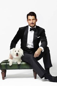 David Gandy says that all he wants for Christmas, besides foster another dog, is to have Candi all to himself :) Sweeeeettt!!!!