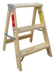 Amazon.co.jp : 木製脚立 ミシガンラダー 2フィート U.S.A. : ホーム&キッチン